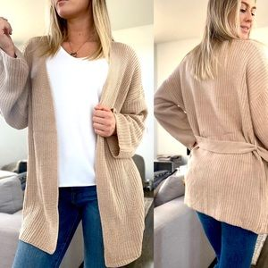 🍁 Lateé Knit Cardigan Sweater
